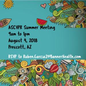 ASCVPR Summer Conference 8-4-2018