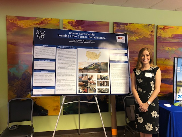 Poster Presentation by Elly Hitt: Cancer Survivorship - Learning from Cardiac Rehab