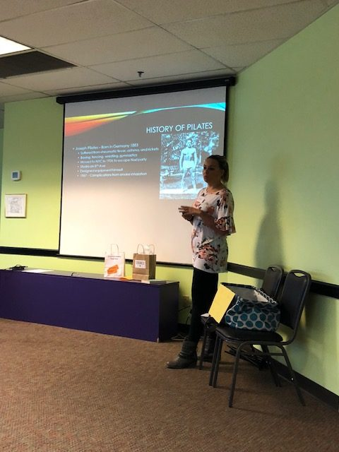 Laura Porisch, MS, RCEP spoke about Pilates in the Rehab Setting.