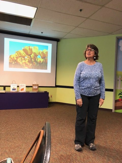 Leslie Cook, BA engaged the attendees by teaching us about 'Managing Stress through Tai Chi and Qigong'