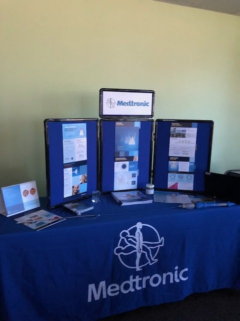 Medtronic was a Silver Sponsors for this year's conference.