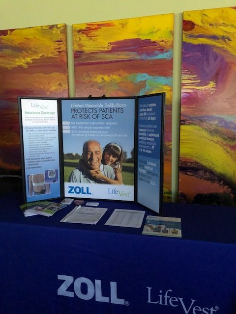Zoll was a Gold Sponsor for this conference. They had Life Vest demonstration during the conference.