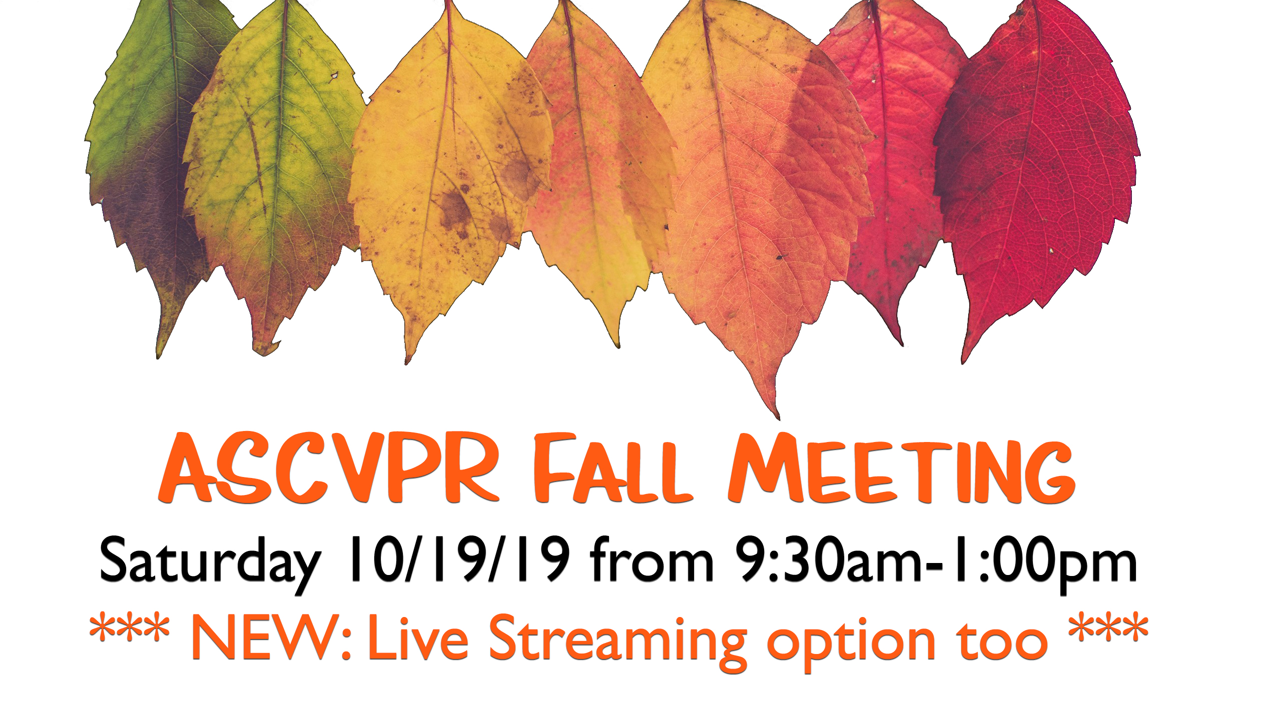 ASCVPR Fall Meeting EventBrite Banner