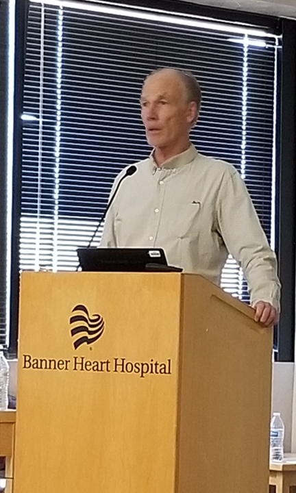 Dr. Glenn Gaesser  discussing 'The Importance of Improving Cardiorespiratory Fitness for Cardiac Rehab Patients'